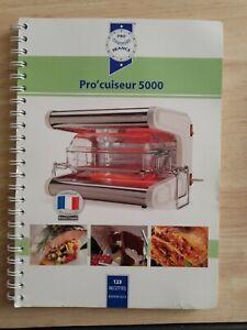 Grand livre de 123 recettes pour omnicuiseur 5000