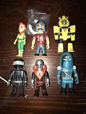 Kidrobot Transformers vs. GI Joe Vinyl Lot Snake Eyes, Destro, Scarlet +++