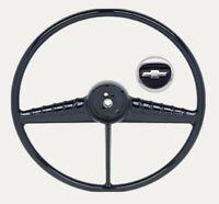 OER 3 Spoke Steering Wheel and Horn Cap 1955-1956 Chevrolet Pickup Truck
