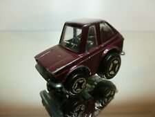 POLISTIL MG24 FIAT 127 - PURPLE L5.5cm - GOOD CONDITION
