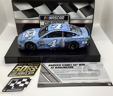 """2020 1/24 #4 Kevin Harvick """"Busch Lite #YourFaceHere""""Darlington Win 1 of 876"""