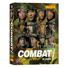 COMBAT (1966-1967) Season 5 - Complete TV Series in Color 12-Disc BOX SET (New)