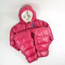 PATAGONIA Baby Kids Hi-Loft Down Sweater BUNTING / Pink 18-24M