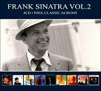 FRANK SINATRA * 4-CD Boxset  * 9 Nine Classic Albums * NEW * 102 Original Songs