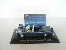 Atlas Editions 1/43 Die Cast Presidential Cars Lincoln Continental Limousine SS