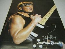 JOHNNY HALLYDAY POSTER WESTERN PASSION (16)