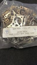FSS1-14 QTY 10 GLENAIR CONNECTOR RETAINING PLATE CAGE CODE 04967 WIP 2455