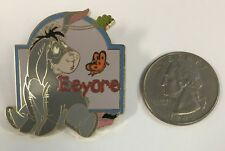 Disney Trading Pin - Eeyore w/ Butterfly & Leaf - 12 Months of Magic