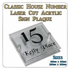 House Name Decorative Outdoor Signs/Plaques
