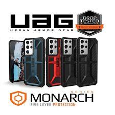 UAG Monarch Case Samsung Galaxy S21 Ultra 5G Rugged Cover Leather Premium Hard