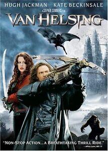 Like New DVD Van Helsing Hugh Jackman Kate Beckinsale Stephen Sommers WS