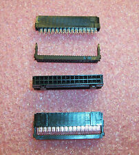 QTY (9) 746292-7 AMP 30 POSITION NOVO IDC RIBBON CABLE RECEPTACLE 2.54mm