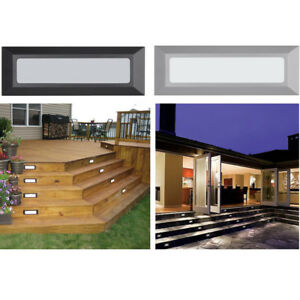 Outdoor Indoor Stair Step LED Light Stage Corner Wall Mount Deck 120V Lighting