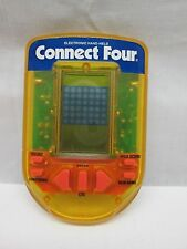 Connect Four Handheld Electornic Games 1995 (Clear Yellow) (RB)