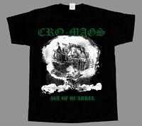 CRO-MAGS THE AGE OF QUARREL'86  NEW BLACK SHORT/LONG SLEEVE T-SHIRT