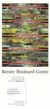 PAINTING ENCHANTED FOREST BY RENEE BRAINARD GENTZ ADVERTISING COLOUR POSTCARD