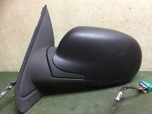 2002- 2009 Chevrolet Trailblazer LH DRIVER power HEATED door mirror  15095498 OE