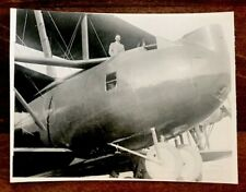 Vintage Black & Whire Photograph BARLING BOMBER?
