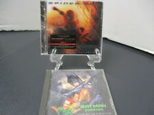 Spider-Man & Batman Forever Soundtracks, Both for 1 small price, Free Shipping