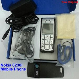 100% Genuine Original Nokia 6230i 1.3MP GSM Unlocked Mobile Phone - Black.silver