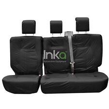 Ford Focus Inka Totalmente a Medida impermeable asiento trasero cubre Negro