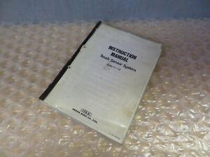 PNC Matic Fanuc 10,11 Touch Sensor System T-1,T-2 Instruction Manual (17354)