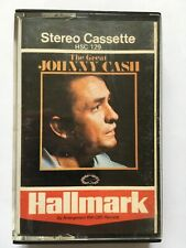 THE GREAT JOHNNY CASH (AUDIO CASSETTE)