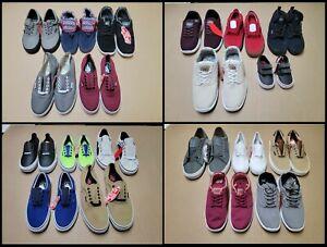 Lot (20) VANS Resale Shoes Sneakers Authentic Slip On Old Skool Wholesale NWOB