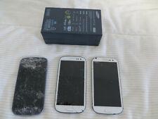 3 Stück Samsung S3 i9300 Handy Smartphone Lcd Defekt