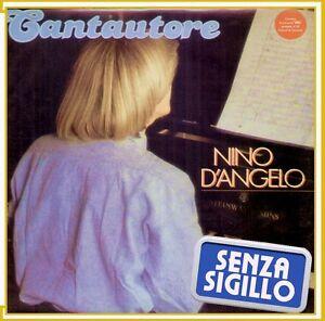 "NINO D' ANGELO "" CANTAUTORE "" LP NUOVO VIS 1986"