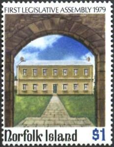 Mint stamp First Legislative Assembly 1979 from Norfolk Island   avdpz