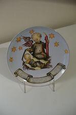 Hummel, Goebel  H410 Christmas Collector Plate 1990 Tender Watch W/ BOX & CERTIF