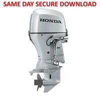 Honda BF20A BF25A BF30A Outboard Motor Service Repair Manual | FAST ACCESS