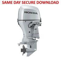 Honda BF20A BF25A BF30A Outboard Motor Service Repair Manual | FAST ACCESS