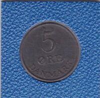 5 Öre Dänemark 1954 Frederik IX Denmark