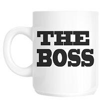 The Boss Office Novelty Gift Mug shan50