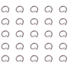 304 Stainless Steel Open Jump Rings 4~8mm Diameter Jewelry Making Accessories