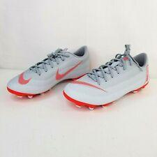 Nike Youth Vapor 12 Academy GS FG/MG Soccer Cleats Wolf Grey AH7347 060 Size 6Y