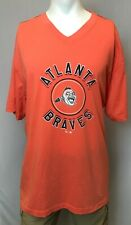 "New '47 Atlanta Braves Men's Short Sleeve ""Retro Logo"" T-Shirt, 3XL"
