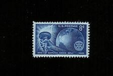 US Stamp 1066, ROTARY INTERNATIONAL 50TH ANNIV, (8c) BLUE  MINT NH OG