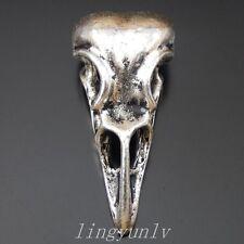 25PCS Vintage Silver Alloy Skull Skeleton Pendant Charms DIY Accessories 37668