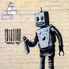 Posavasos De Vidrio Banksy Estilo Moderno Street Art Hecha en Reino Unido Art 2 glassuk Regalo 2153