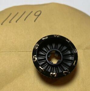 Zebco Cardinal 3 Reel Parts BLACK  Knob No. 11119 NOS
