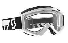 Scott RECOIL Xi Goggles White / Clear Lexan Lens MX ATV Motocross 240591