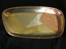 Mix Sterling Copper Bronze Brass Aluminum Los Castillo Taxco Mexico Mcm Tray #95