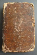 Antique 1871 Hebrew Torah Book Judaica Chumisch Tom 4 Druck Verlag Bible Emberg