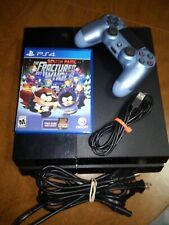 Sony PlayStation 4 PS4 500 GB w/ controller and cords and game!