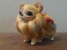 Josef Originals Pomeranian Dog Figurine Japan Super Cute!