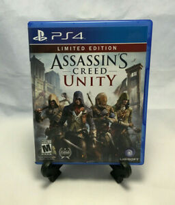 Assassin's Creed: Unity Limited Edition (Sony PlayStation 4, 2014) CIB Complete