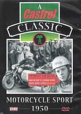 Motorcycle Sport 1950 (New DVD) Isle of Man TT Course with Geoff Duke 1952